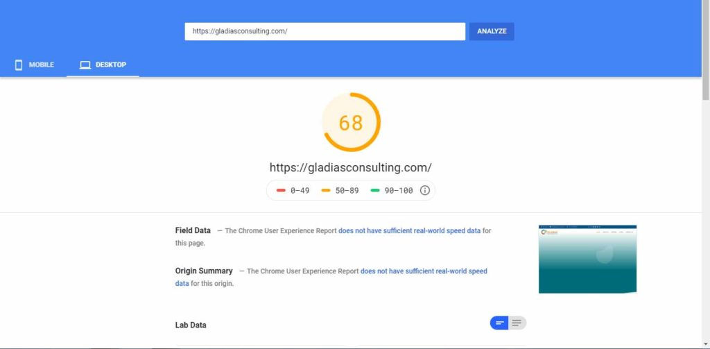 Google-page-speed-insight