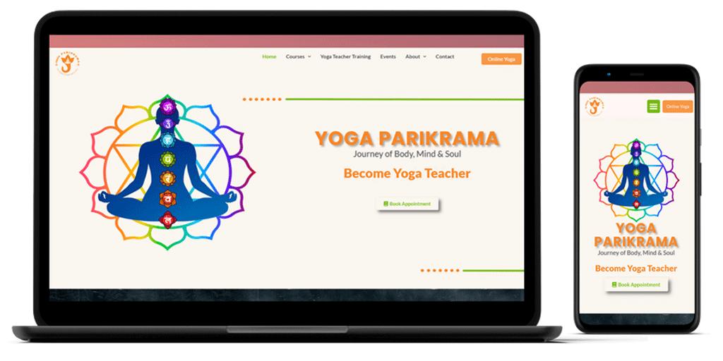 Yoga Parikrama Mockup